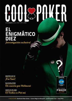 Tapa de la revista Nº6, 2016 | Nº6, 2016 magazine cover