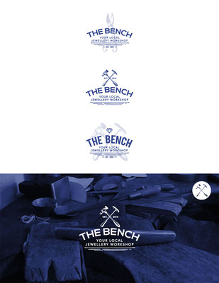 Propuestas de logo para The Bench, un taller de joyería tradicional | Logo proposals for The Bench, a traditional jewellery workshop