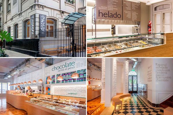 Cartelería e identidad gráfica en locales | Signage and display graphics in stores