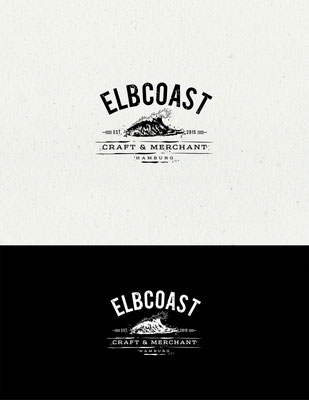 Propuesta de logo para Elbcoast, empresa de diseño de moda e interiores | Logo proposal for Elbcoast, a vintage maritime fashion & interior business