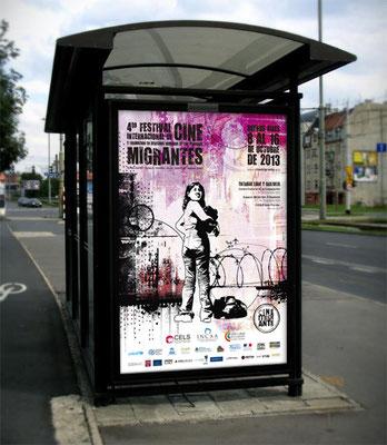 2013: Afiche vía pública / Billboard