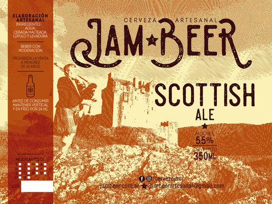 Etiqueta Scottish Ale / Scottish Ale Label