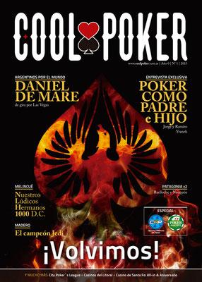 Tapa de la revista Nº1, 2015 | Nº1, 2015 magazine cover