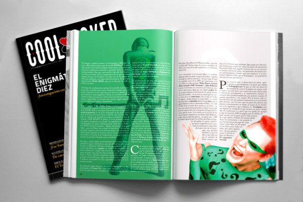 Diseño editorial de la revista Nº6, 2016 | Nº6, 2016 magazine editorial design