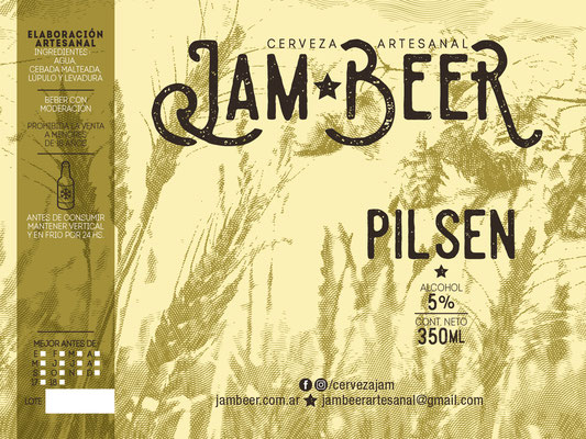 Etiqueta Pilsen / Pilsen Label