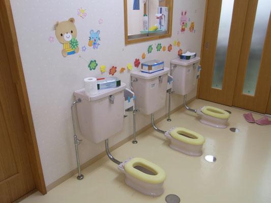 3歳未満児トイレ