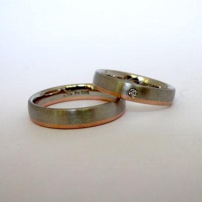 Ring-Palladium-Aquamarin