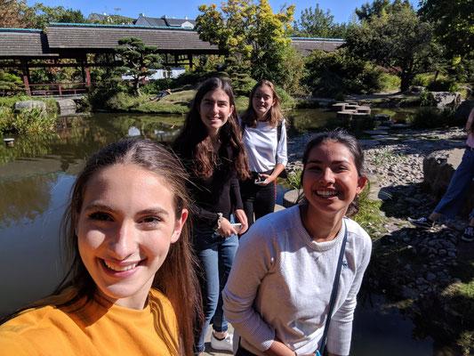 Les 4 correspondantes sur les pas japonais