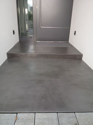 Spachteltechnik Zement