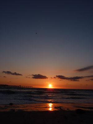 Coucher de soleil Ocean Beach