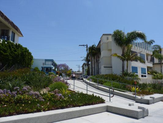 Dans la rue à Pacific Beach