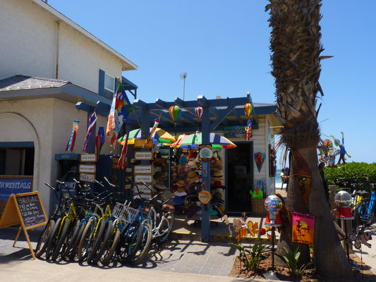 Vélos à Pacific Beach