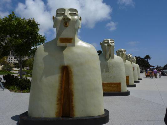 Statue de Seaport Village