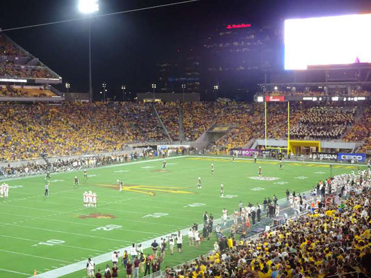 Sun Devils d'Arizona State vs Oregon State (2018/19)