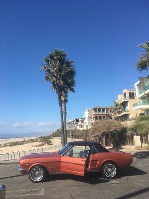 Vieille caisse à Manhatan Beach CA)