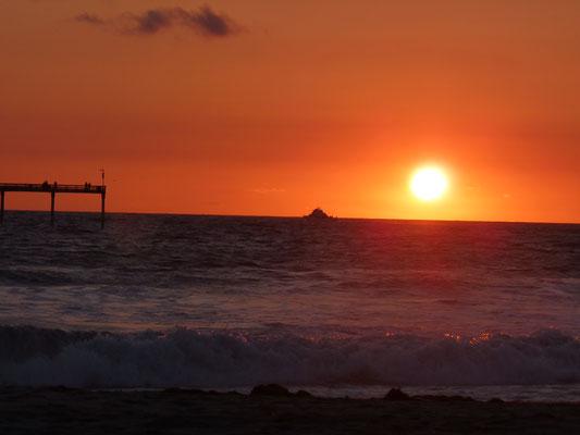 Coucher de soleil sur Ocean Beach