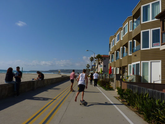 Promenade à Pacific Beach