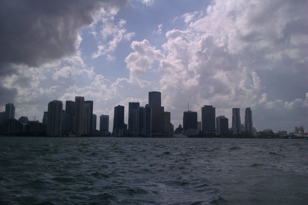 Vue sur Miami Downtown