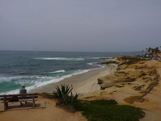 Vue sur les côtes de La Jolla