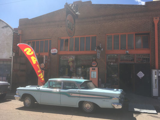 Vieille caisse à Bisbee (AZ)