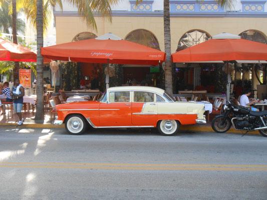 Vieille caisse à Miami Beach (FL)