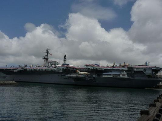 Vue sur l'US Midway
