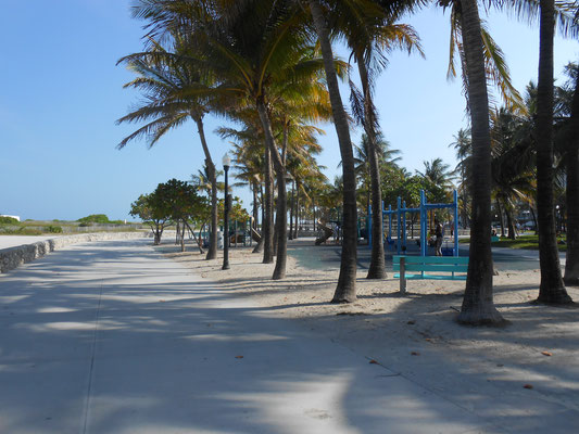 Promenade sur South Beach