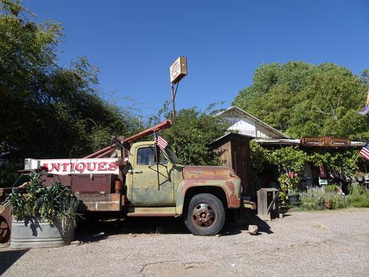 Vieille caisse à Camp Verde (AZ)