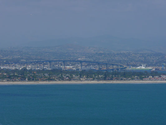 Vue du Cabrillo National Monument (Coronado Bridge)