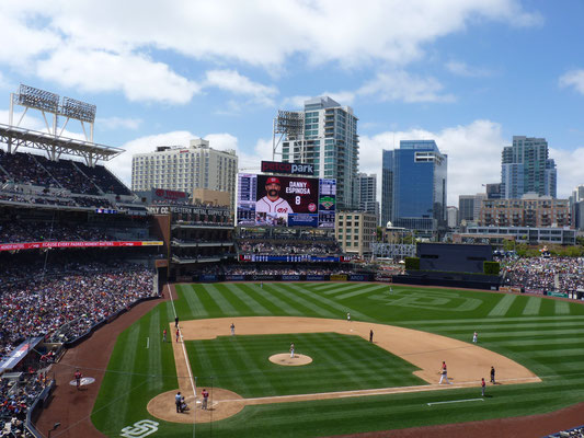 Into the Petco Park