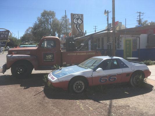 Vieille caisse à Seligman (AZ)