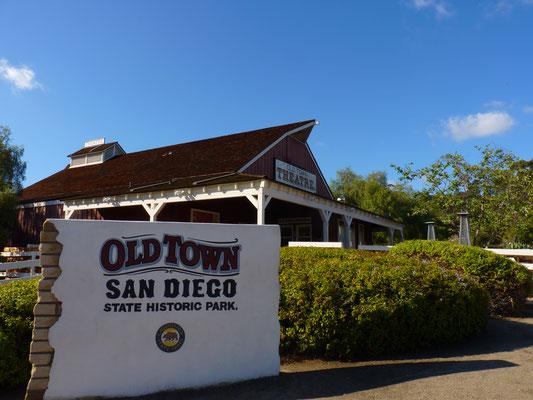 Entrée d'Old Town San Diego