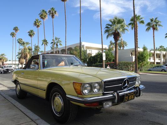 Vieille caisse à Palm Springs (CA)