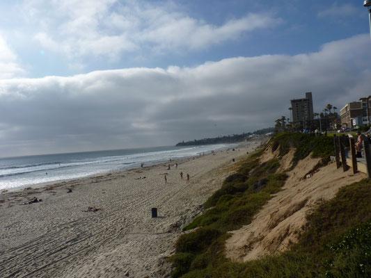 Vue sur Pacific Beach