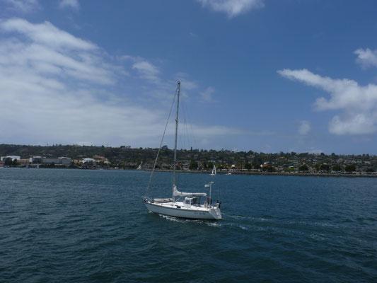 Vue sur les côtes de San Diego