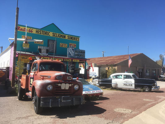 Seligman Road 66
