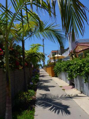 Entre Pacific Beach et la Baie de San Diego