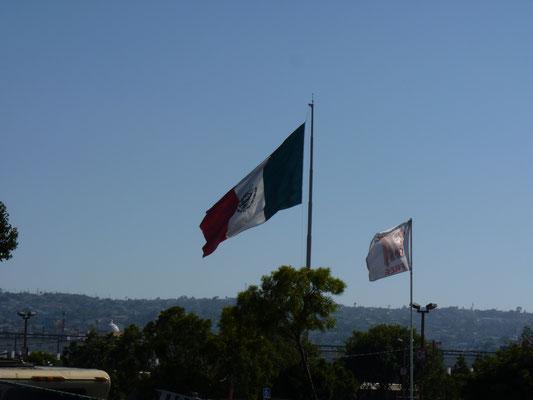 Entre San Ysidro et Tijuana (Mexique)
