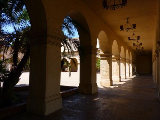 Into the Balboa Park