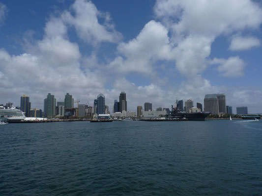 Vue sur San Diego Downtown