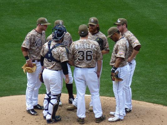 L'équipe des San Diego Padres