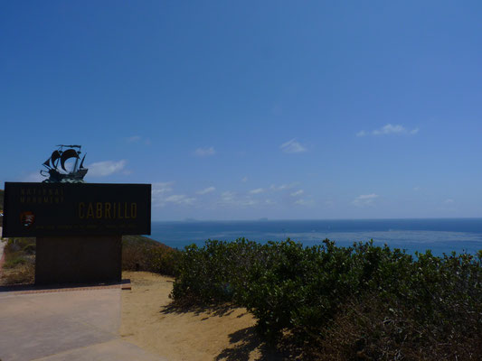 Entrée du Cabrillo National Monument