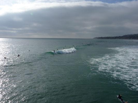 Surf à Pacific Beach