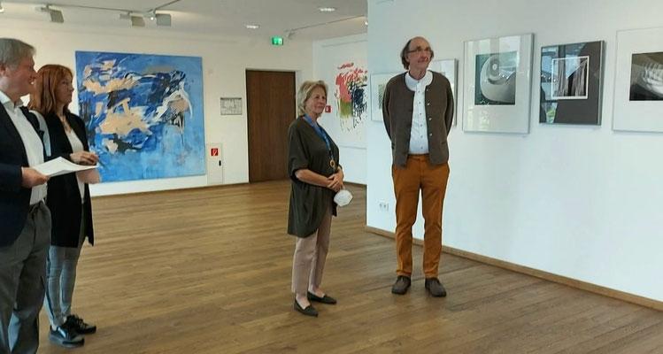 Brigitte Siebeneichler und Günter Unbescheid