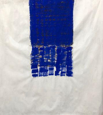Unreachable, 2020. Acryl-Cellulose auf Papier. 110 x 100 cm.