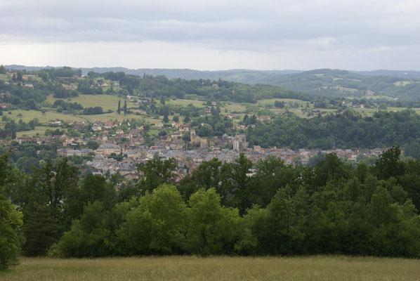 Montignac-Lascaux vue des hauteurs
