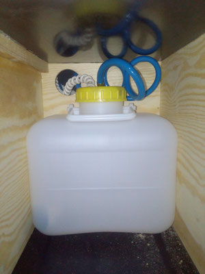 10 Liter Wasserkanister mit