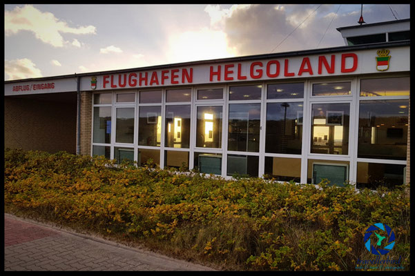 Flughafen Helgoland-Düne