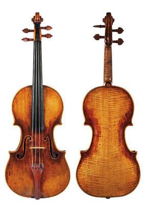 Гварнери дель Джезу  скрипка  Moller 1725