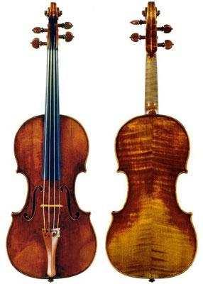 Гварнери дель Джезу  скрипка Ferni 1732